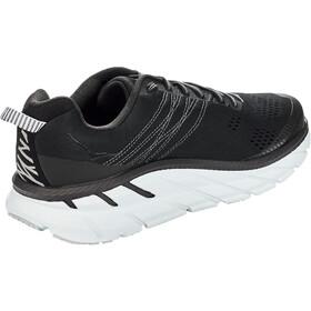 Hoka One One Clifton 6 Running Shoes Herre black/white